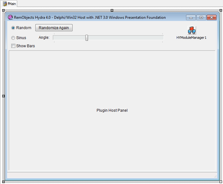 Delphi WPF Sample